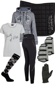 HV Polo Set Black-Grey SS18