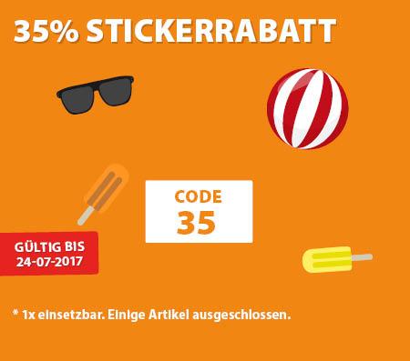 35% Sticker