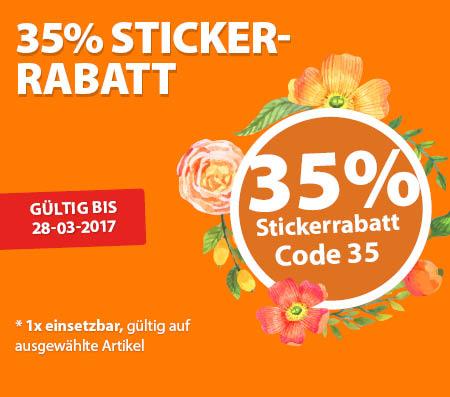 35 sticker tablet